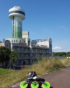 木曽川自転車道を滑るよ!(137)