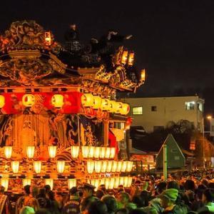 ユネスコ無形文化遺産 秩父の夜祭と上野天神祭