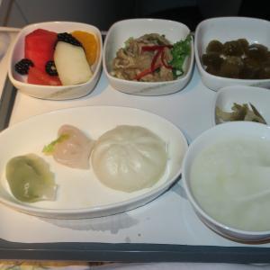 中国国際航空(エアチャイナ ) パリ→北京 ビジネスクラス搭乗