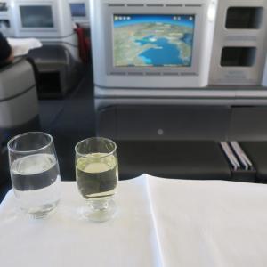 中国国際航空(エアチャイナ) 北京→ソウル ビジネスクラス搭乗