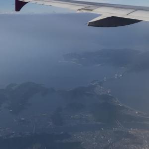 ピーチ 釜山発大阪(関西)行き 搭乗