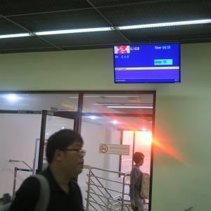タイ・エアアジア・エックス バンコク(ドンムアン)→名古屋 初便搭乗