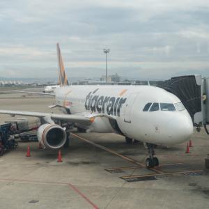 タイガーエア台湾 小松→台北(桃園)就航初便搭乗