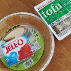 豆腐ゼリーパイ