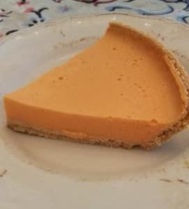 豆腐オレンジゼリーパイ