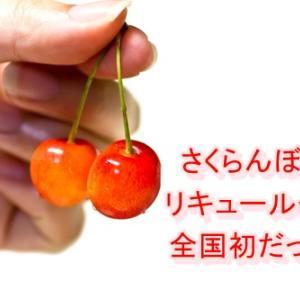 【さくらんぼのおさけ】白桃とコラボで食べるの?飲むの?