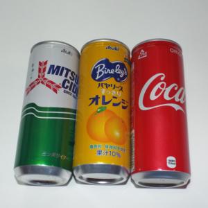 昔の缶ジュース