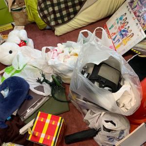 部屋の掃除をしたらいろんなものが出てきた。