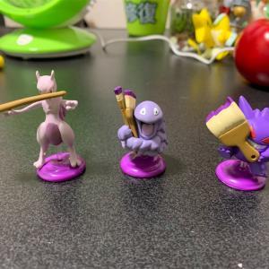 紫色のポケモンたち。