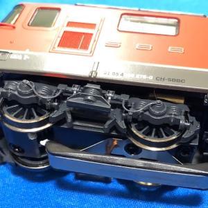 ROCO #79251 SBB Re420 メルクリン方式からDC仕様に改造。