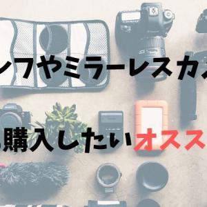 一眼レフやミラーレスカメラと一緒に購入したいオススメ小物
