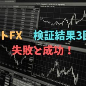 ドラストFX 検証結果3回目!失敗と成功!