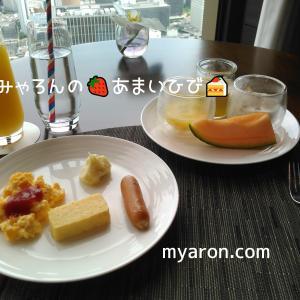 コンラッド大阪お泊り編3-朝食
