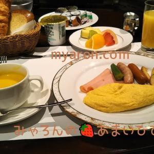 ホテルの朝食-シェラトン都ホテル🍳