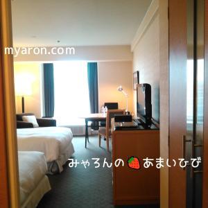 シェラトン都ホテル大阪お泊り編-お部屋1