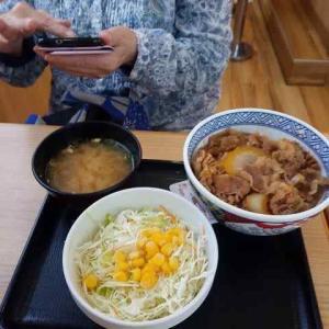 吉野家の牛丼並盛が無料で食べれた