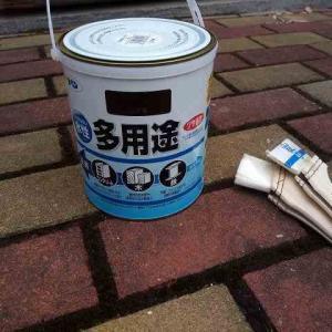 雨戸の戸袋とシャッターを塗装するその2