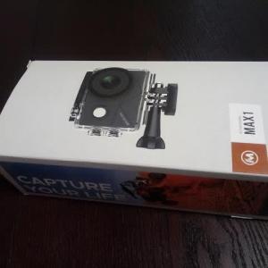 アクションカメラがまた初期不良でした