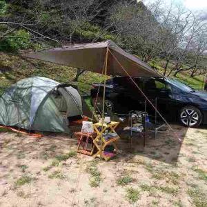 半年ぶりに笠置キャンプ場へきました。