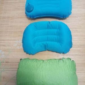 エアー枕の空気漏れを修理する