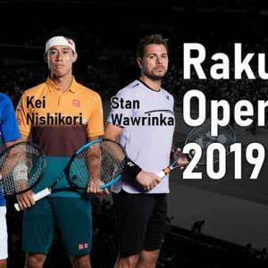 2019楽天オープンについにジョコビッチが来るらしい