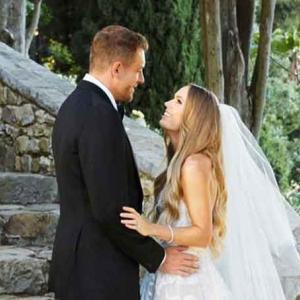 ウォズニアッキが結婚。まるで「SATC」