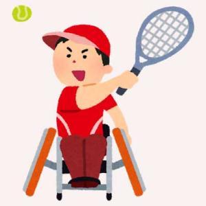 楽天オープン、車いすテニス大会を実施