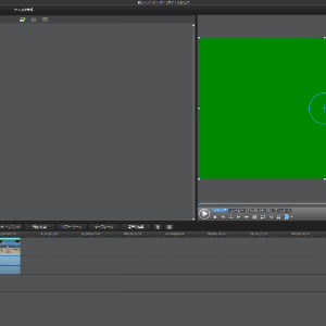 動画編集プレビュー画面が緑色になる場合の対処法
