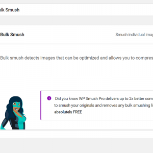 画像を最適化するプラグイン Smushの設定と使い方