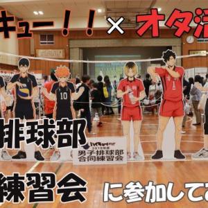 【ハイキュー!!】男子排球部男子合同練習会に参加してみた