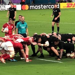 RUGBY WORLD CUP JAPAN日本 2019 - ニュージーランド対カナダを観戦する