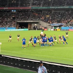 RUGBY WORLD CUP JAPAN日本 2019 - 南アフリカ対イタリア @静岡エコパスタジアム