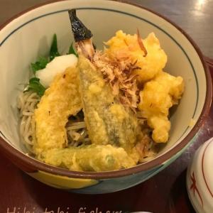 ここのそばと天ぷらが好き♪