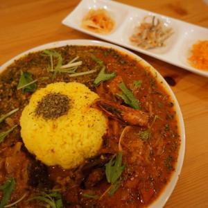 『ミッドナイトサン』|堺筋本町のスパイスカレー店にディナー再訪!【特に女性にオススメ!】