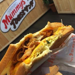 マミーズトーストサンド 堺筋本町で韓国トーストを堪能!(やすとものキメツケで紹介)
