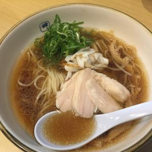 長堀橋の魚系とんこつラーメン店『麺や 輝』の限定冷やしラーメンを。