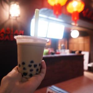 【7/20リニューアル!】アメリカ村にある台湾料理店『味庵茶坊』で黒蜜タピオカミルクをテイクアウト