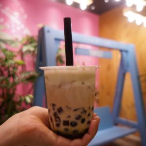 【キリンのロゴ】心斎橋のタピオカチーズティー専門店『TAPICI Tea Stand(タピチ ティースタンド)』