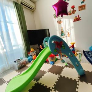買ってよかった!【MRG 室内滑り台】for二歳児☻