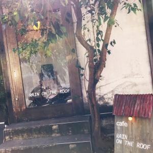 雨の日の納屋カフェ☔︎