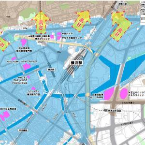「横浜で津波が来たら内陸(高台)へ」ハザードマップを更新