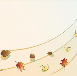 きたきた、秋の気配