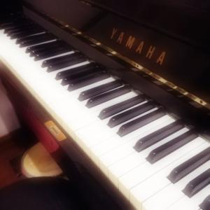 もちろんピアノ