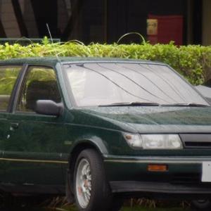 懐かしい80'&90'車(いすゞ・ジェミニ)