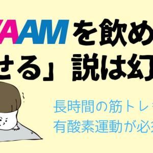 VAAM(ヴァーム)は痩せる飲み物じゃない!飲みすぎで太ることも