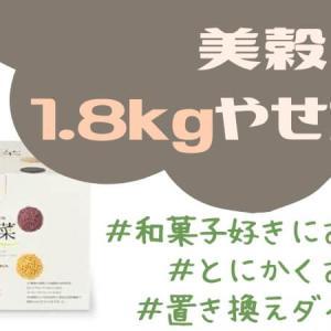 【美穀菜】甘くない置き換えダイエット飲料で1.8kg痩せました※途中経過