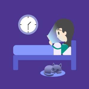 寝不足や老化防止に!スマホ画面のブルーライトや刺激光をカットする無料アプリ