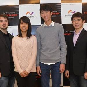 ショパン国際ピアノコンクール過去の日本人入賞者など