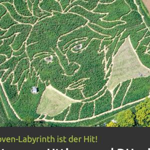 ドイツの畑にベートーヴェンの顔が現れた!♪