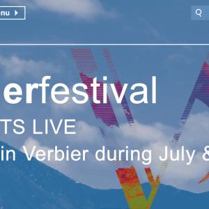 ネットでヴェルビエ音楽祭 Virtual Verbier Festival 楽しめる ♪